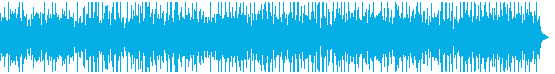 軽快なマンドリンフォークの再生済みの波形