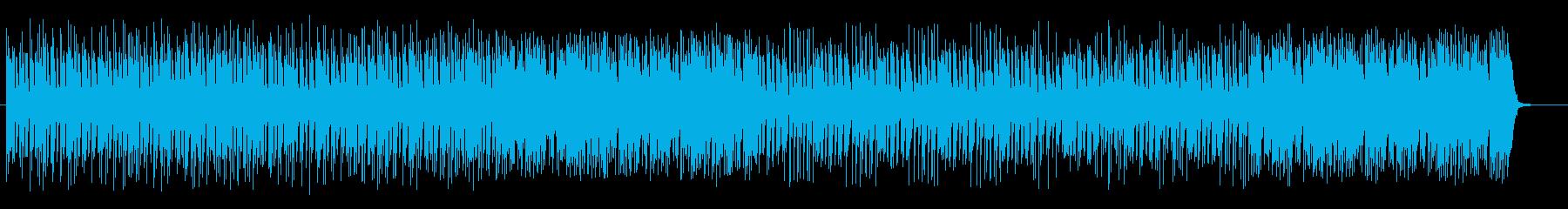 明るくリゾート感のあるシンセサウンドの再生済みの波形