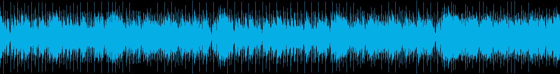 幻想的でおしゃれな映像にぴったりなジャズの再生済みの波形