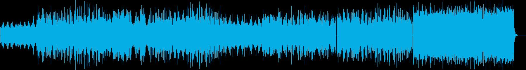 おしゃれな3拍子のフューチャーベースの再生済みの波形