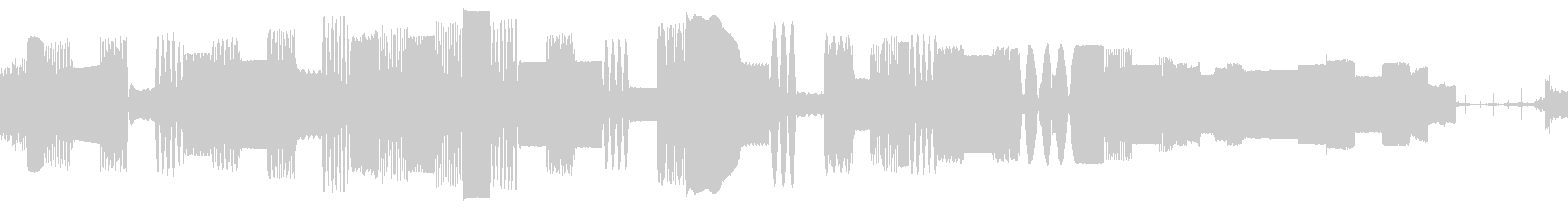 ビープ音12の未再生の波形