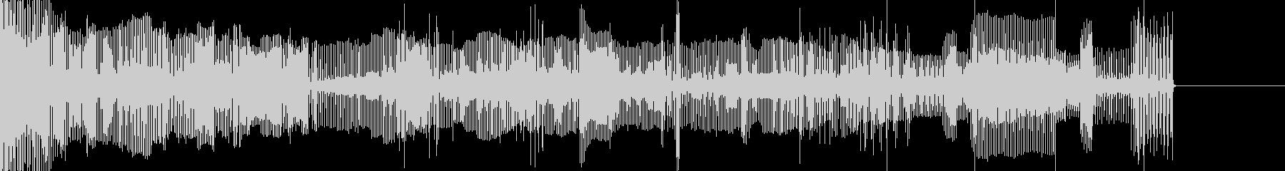 壊れた機械音01の未再生の波形