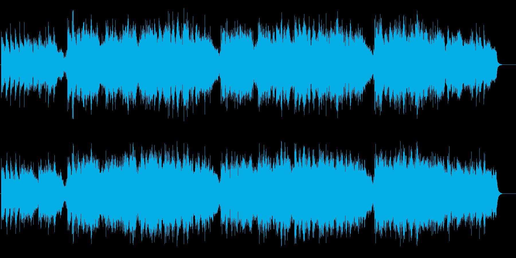 シリアスなスロー・バラード(花束贈呈)の再生済みの波形