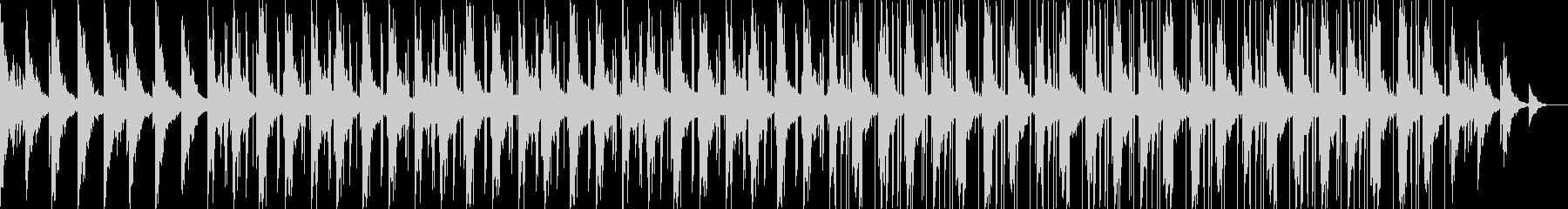 サックスを使用したlofihiphopの未再生の波形