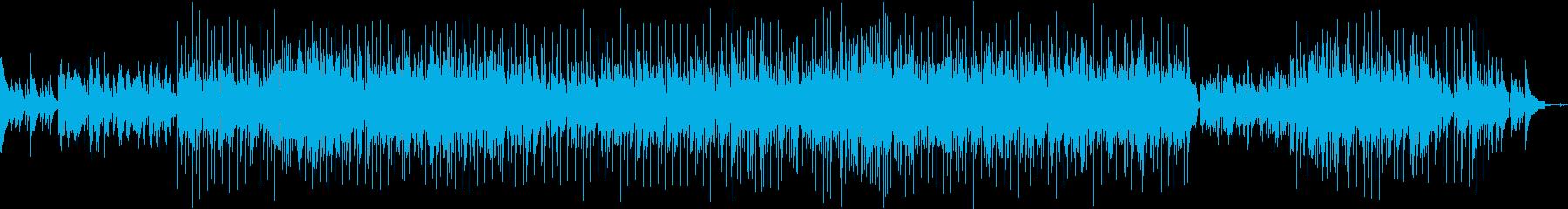 感動的アコースティックポップスバラードの再生済みの波形
