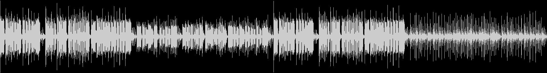リコーダーが可愛い「お正月」ループ版の未再生の波形