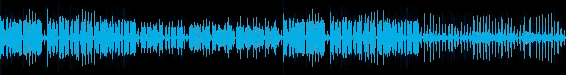 リコーダーが可愛い「お正月」ループ版の再生済みの波形