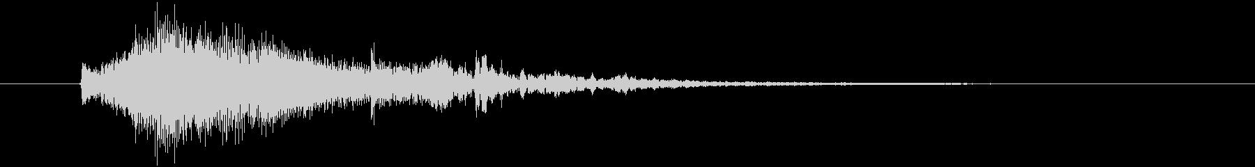テロップ表示や場面転換に使えるかわいい音の未再生の波形