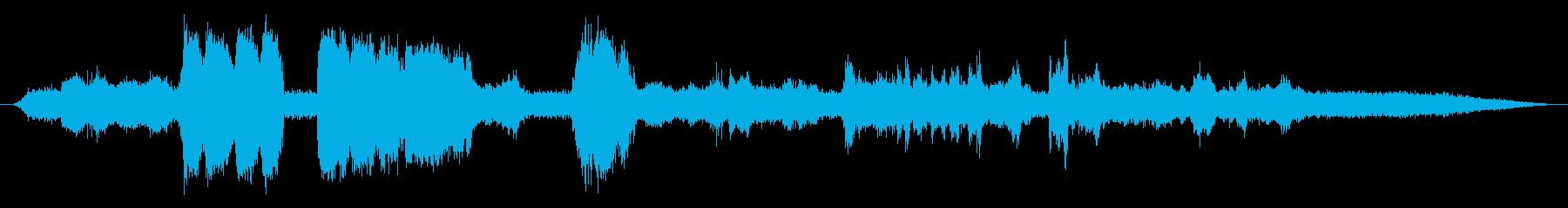 産業用スタンドアローンベルトサンダ...の再生済みの波形