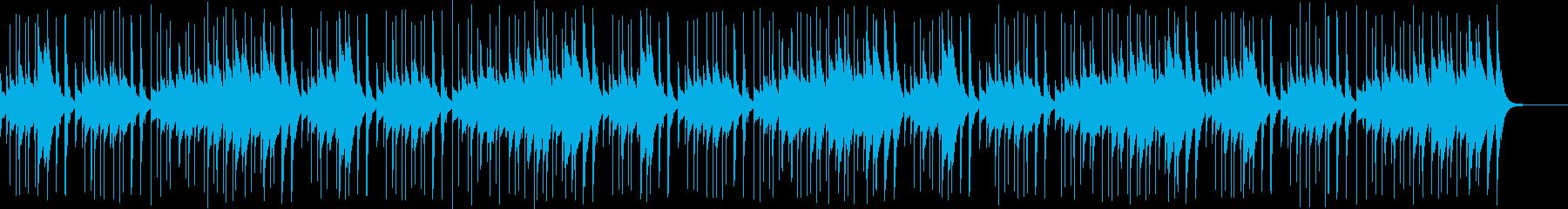 「幸せなら手を叩こう」オルゴール版の再生済みの波形
