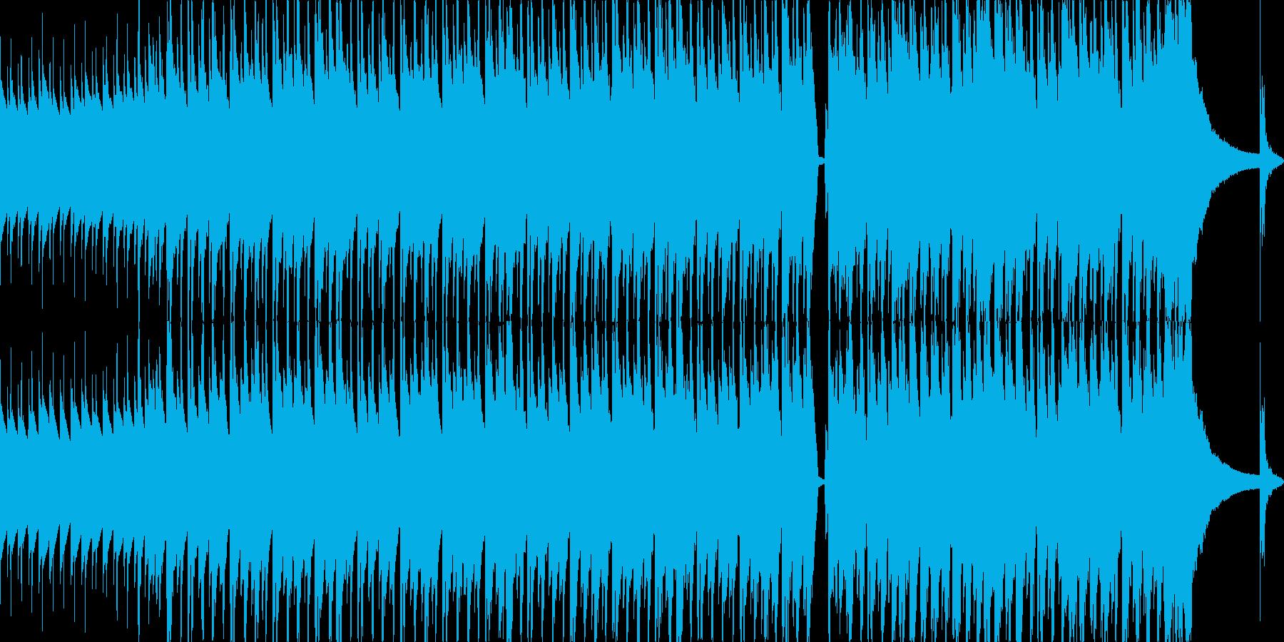 明るくハッピーでリズミカルの再生済みの波形