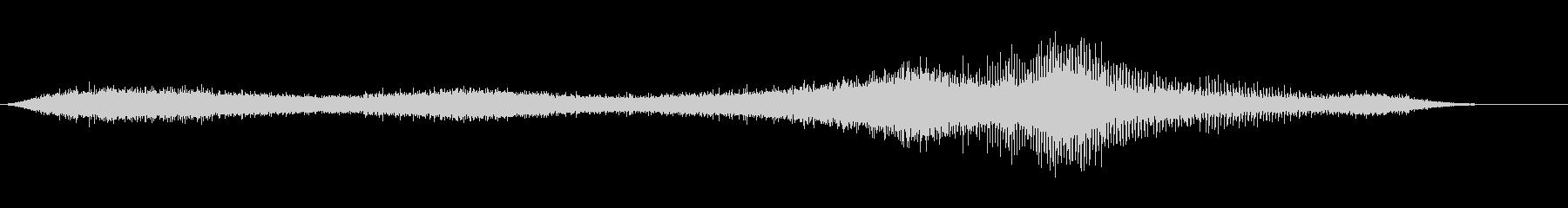 【生録音】 早朝の街 交通 環境音 2の未再生の波形