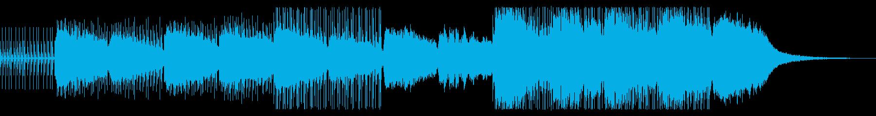 アンビエントエレクトロインストきら...の再生済みの波形