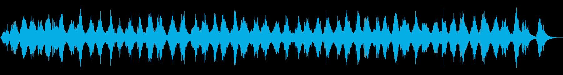ベルツリー:連続グリッサンドスの上下の再生済みの波形