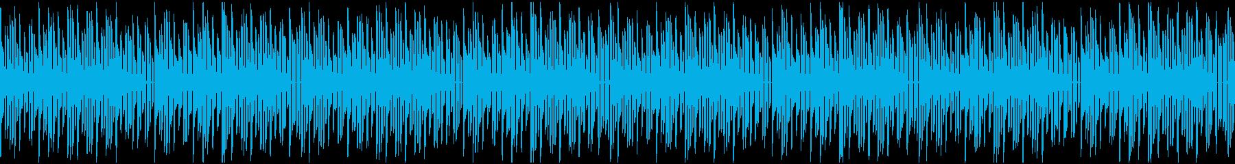 ファミコン風爽やかなインストの再生済みの波形