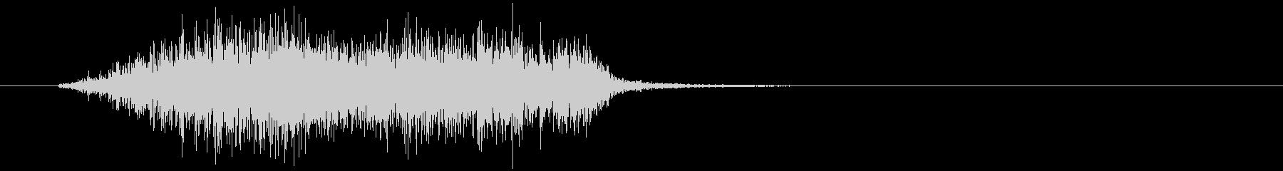 中型サンドブロック:中型スクラッチ...の未再生の波形