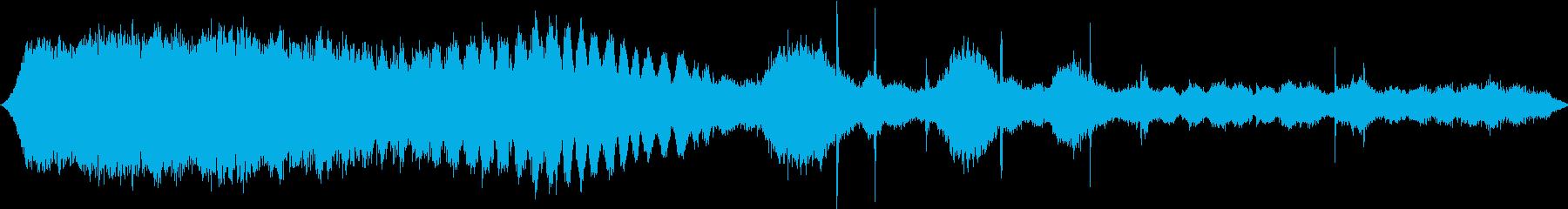 パドルホイールリバーボート:ディー...の再生済みの波形