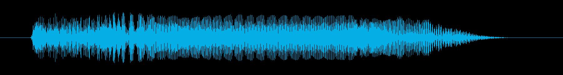 ティーンエイジャーの女性:怒ったうめき声の再生済みの波形