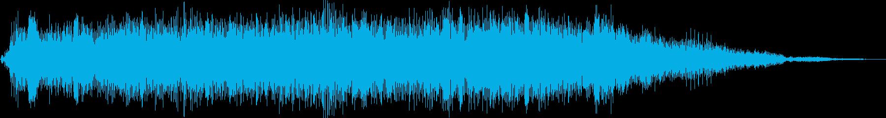 フォークポップのグループが演奏する...の再生済みの波形