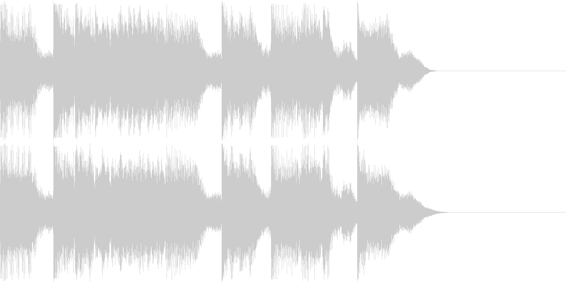 AI メカ/ロボ/マシン動作音 40の未再生の波形