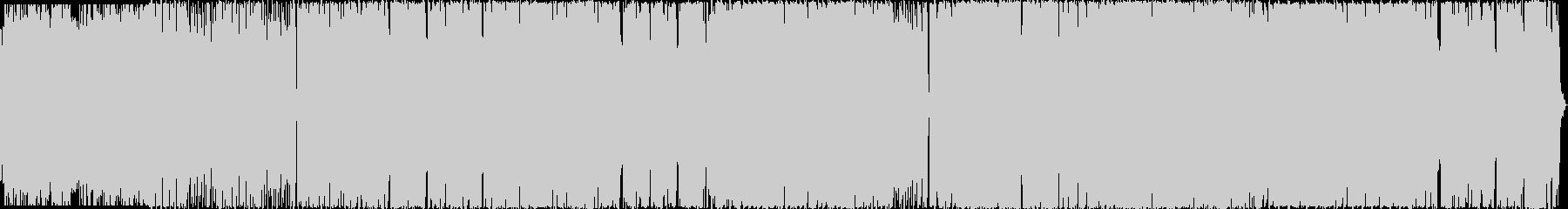 ハロウィン系BGM パンプキンパーティの未再生の波形