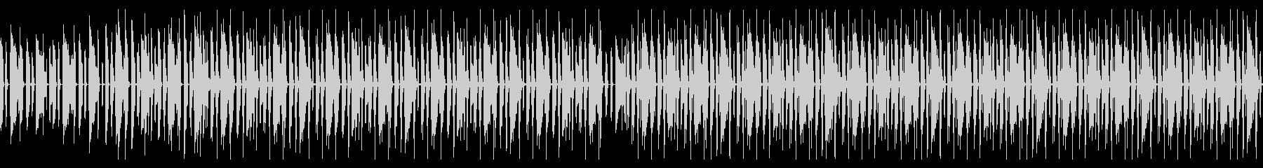 淡々としながらもノリの良いBGM ループの未再生の波形