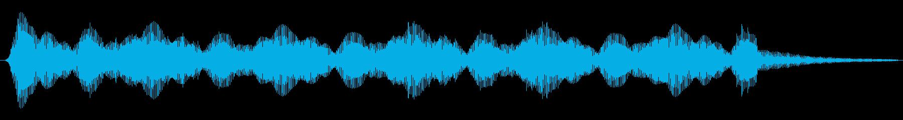 緊張 忍び寄るアンダーワールド01の再生済みの波形
