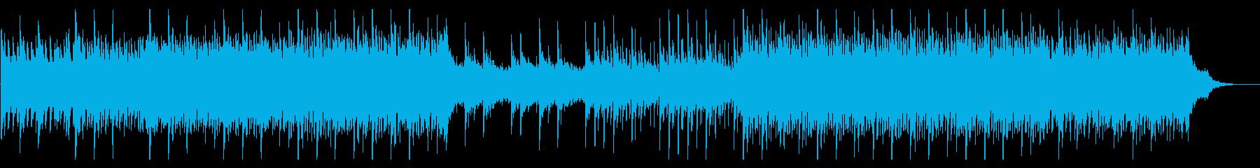 ピアノとシンセの企業向けアンビエントの再生済みの波形