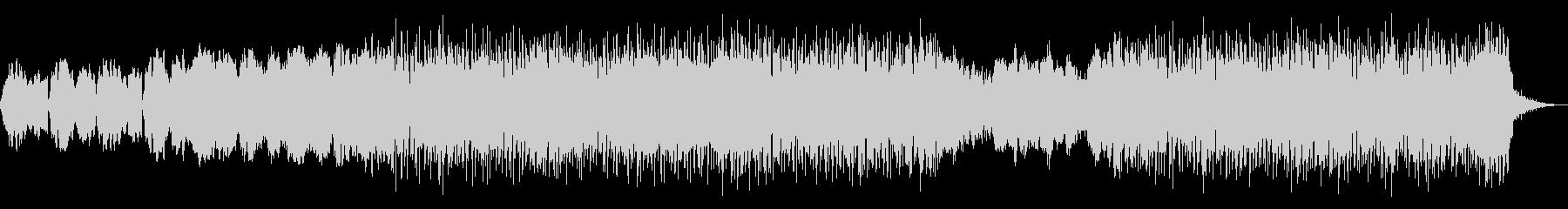 切ないシンセポップなBGMの未再生の波形