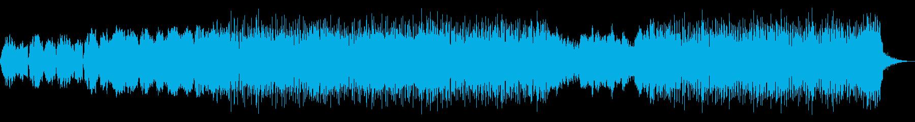 切ないシンセポップなBGMの再生済みの波形