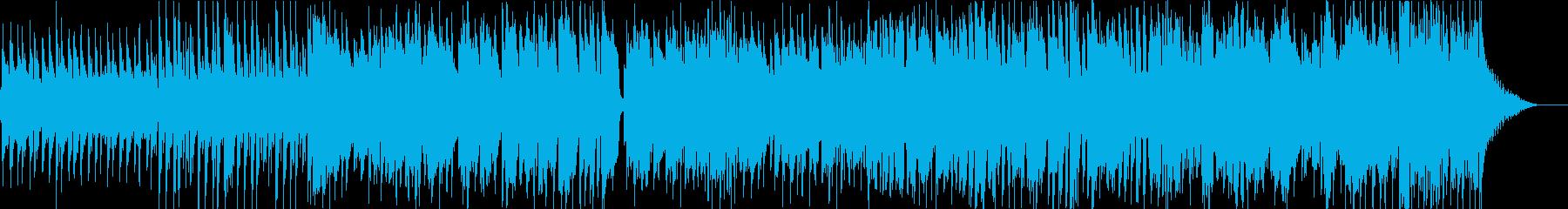 風音が聞こえるかのような疾走感漂うポップの再生済みの波形