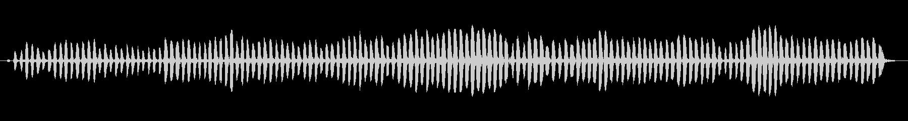 樹脂ひも摩擦:速い摩擦のきしみ音、...の未再生の波形