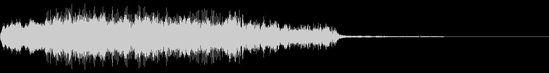 ドリフのコント風コミカルなトランペットの未再生の波形