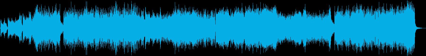 スピード感のある壮大な曲ですの再生済みの波形