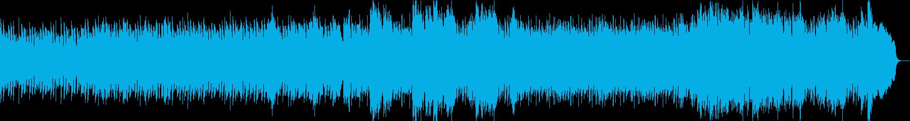 優しくつつむ感動ピアノ:ピアノとソロ弦の再生済みの波形