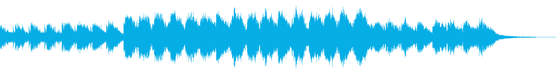 ギターとピアノ音による no.3の再生済みの波形