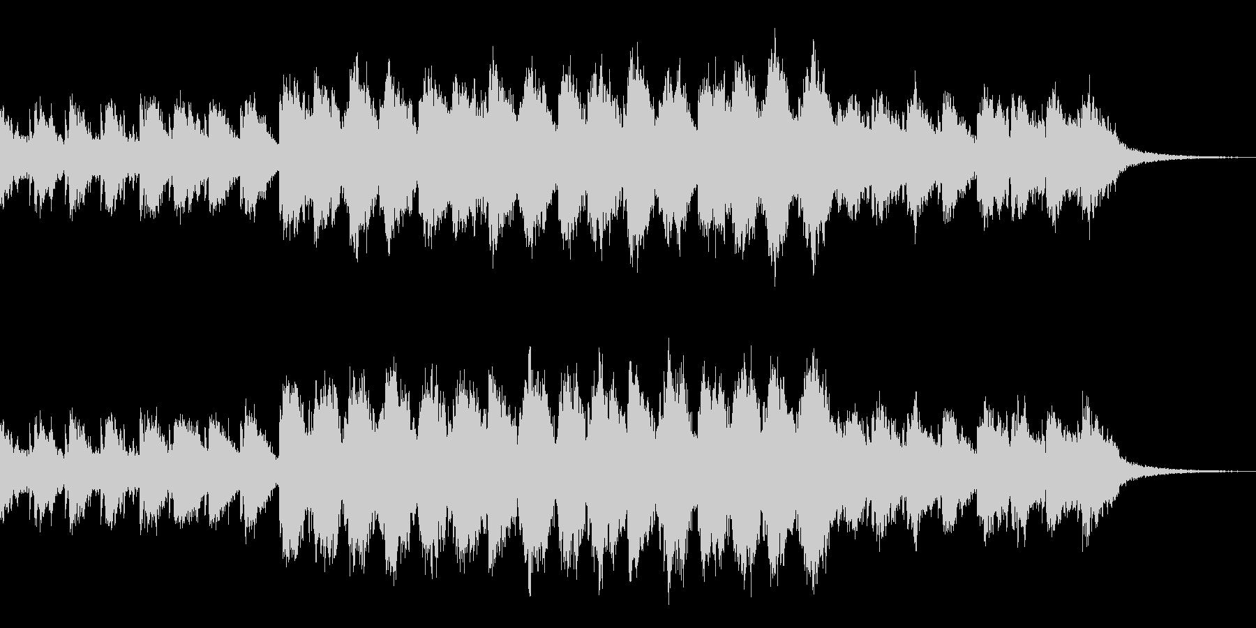 ギターとピアノ音による no.3の未再生の波形