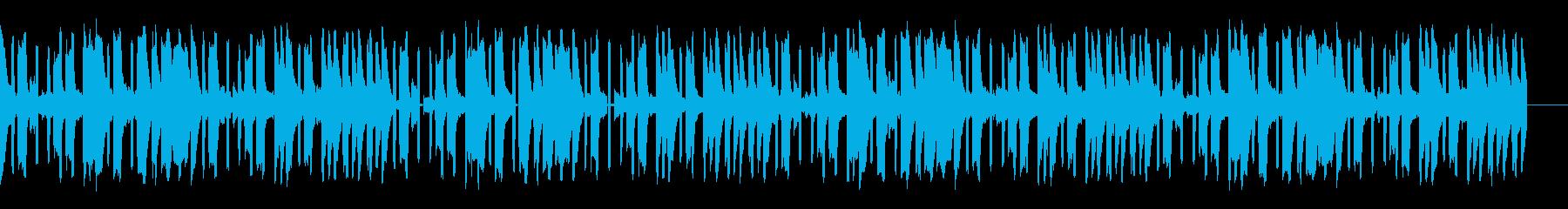電子楽器。大気および旋回効果。スリ...の再生済みの波形