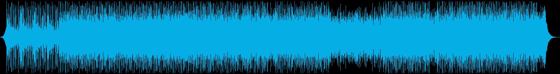 マーケティングの再生済みの波形