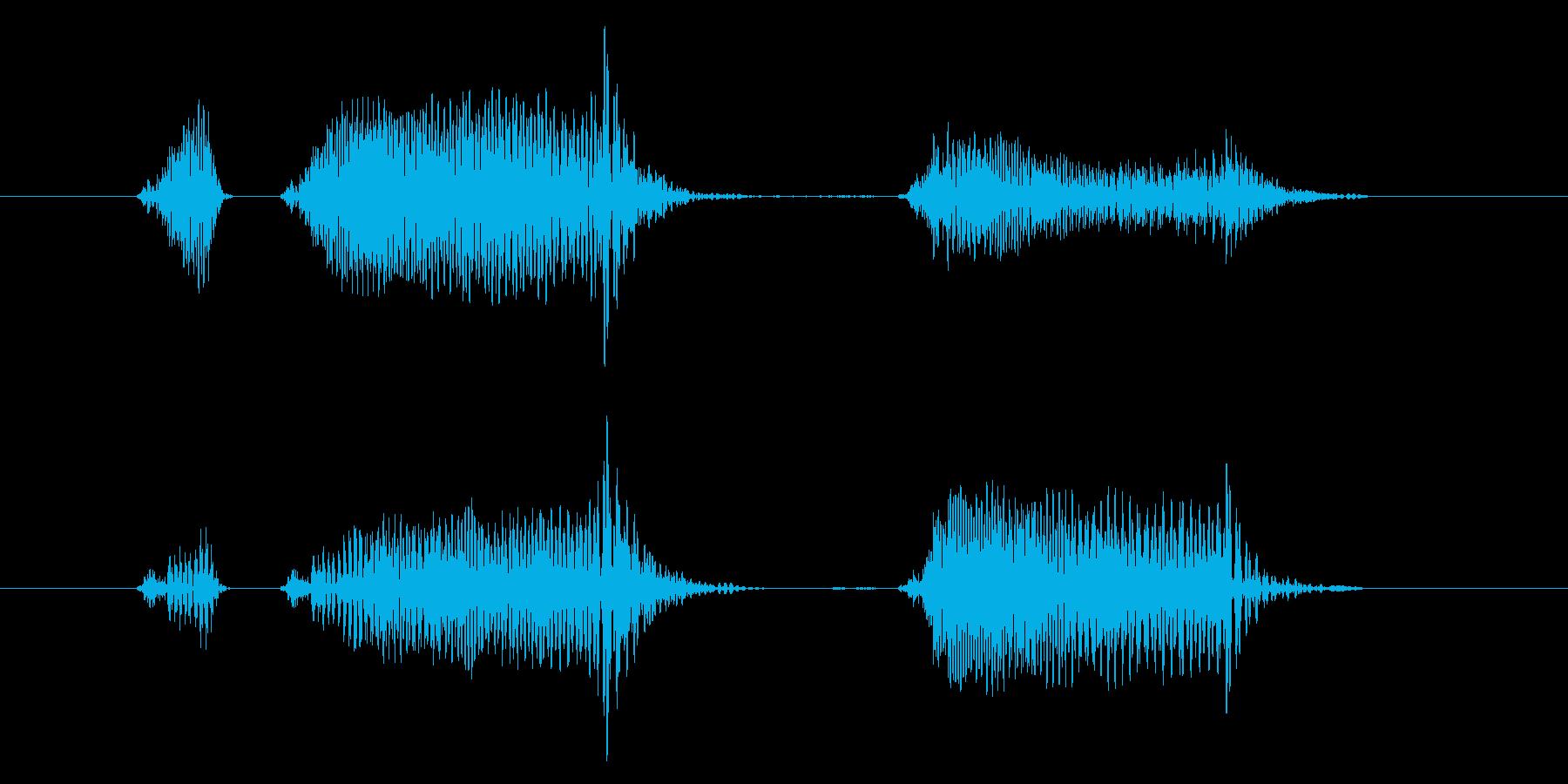 「プニ!ポヨン!」可愛い足音などに最適9の再生済みの波形