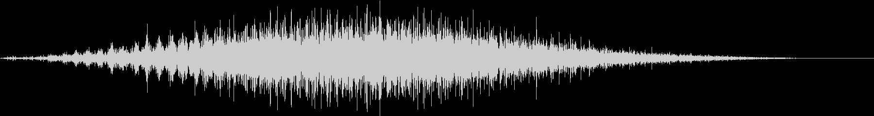 音侍SE「フルフル〜」軽快な振り鈴の音の未再生の波形