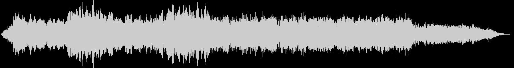 ドローン ダークグリッチ01の未再生の波形
