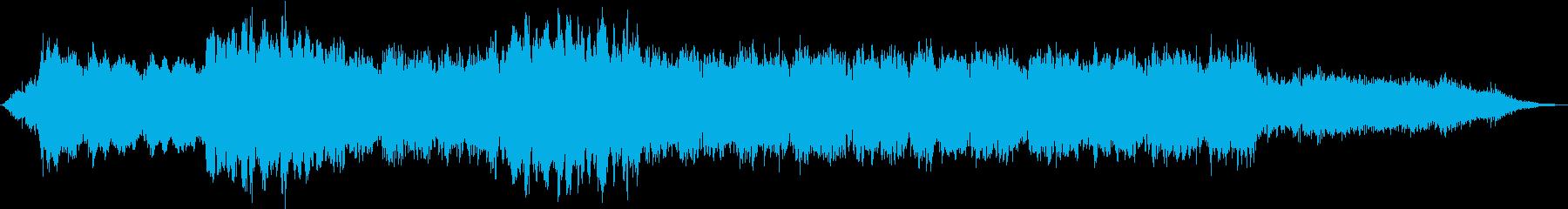 ドローン ダークグリッチ01の再生済みの波形