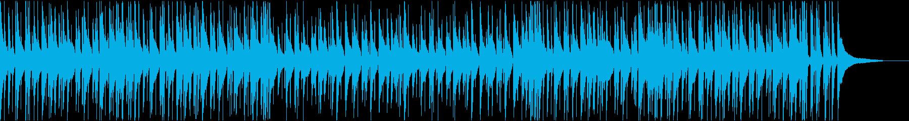 お洒落でキャッチーなジャズピアノトリオ5の再生済みの波形