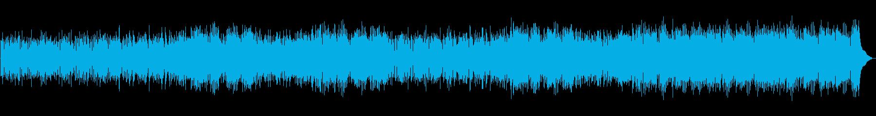 トランペット、ギター、ピアノをフィ...の再生済みの波形