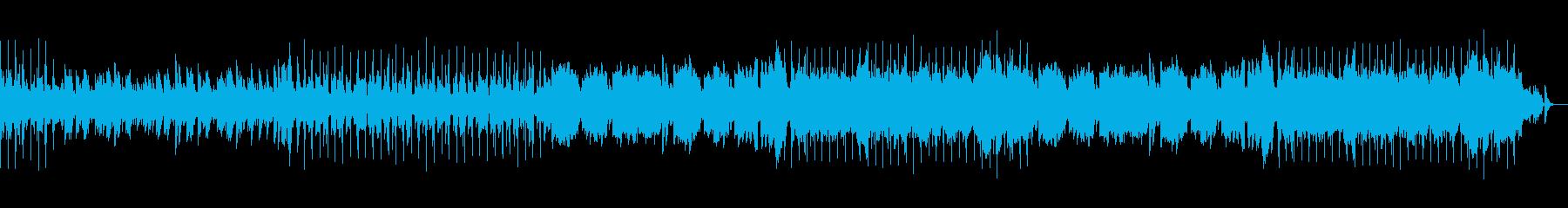 ウキウキとする明るくメロディアスピアノ曲の再生済みの波形