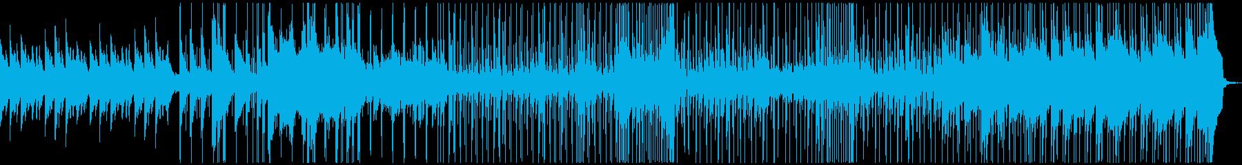 だんだんと勇気がわくピアノの爽快なBGMの再生済みの波形