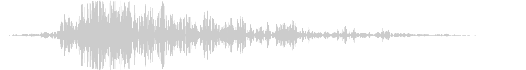 斬撃 ファイヤーイグナイトラージ01の未再生の波形