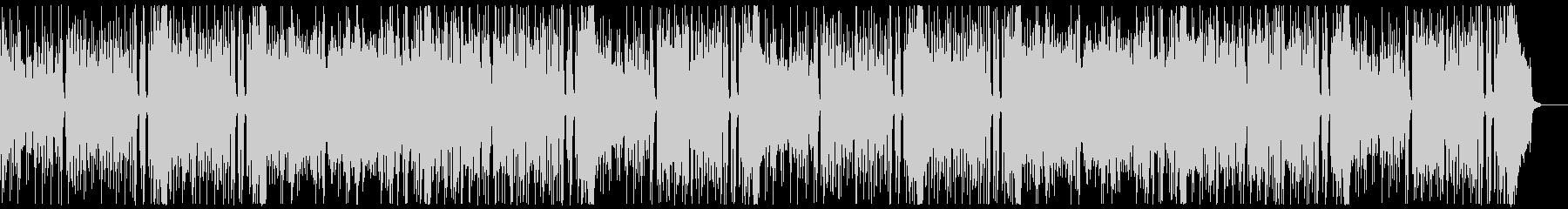 明るく楽しいロックンロール:フルx2の未再生の波形