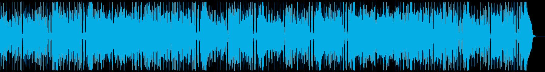 明るく楽しいロックンロール:フルx2の再生済みの波形